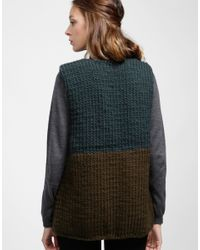 Wool And The Gang   Green Ice Breaker Cardigan   Lyst