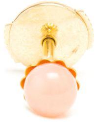 Yvonne Léon - Pink 18Kt Gold Coral Stud Earring - Lyst