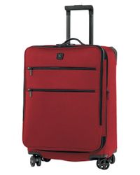 Victorinox - Red Victorinox Swiss Army 'lexicon 24' Dual Caster Wheeled Packing Case for Men - Lyst
