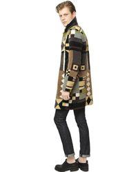 Valentino - Multicolor Patchwork Fur Coat for Men - Lyst