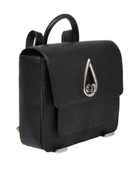 KENZO Black Teardrop Backpack for men