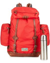 Polo Ralph Lauren | Red Camo Nylon Utility Backpack for Men | Lyst