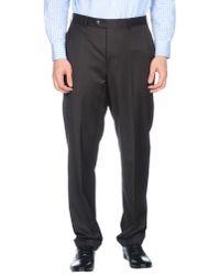 Corneliani Black Casual Trouser for men