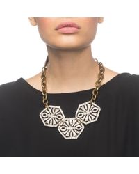 Lulu Frost - Metallic Atrium Statement Necklace - Lyst