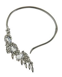 Alexis Bittar | Metallic Miss Havisham Cascading Collar Necklace | Lyst