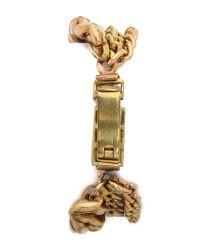 Serefina | Metallic Chain Layered Bracelet - Gold | Lyst