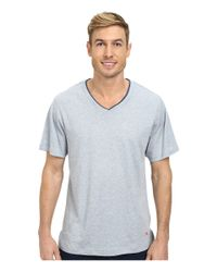 Tommy Bahama | Blue Heather Cotton Modal Jersey Tee for Men | Lyst