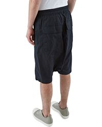 Rick Owens - Men's Oversized Mega Shorts In Black for Men - Lyst