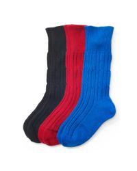 Polo Ralph Lauren - Multicolor Cashmere Trouser Sock Gift Set - Lyst