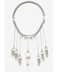 Nasty Gal | Metallic 8 Other Reasons Dream Catcher Necklace | Lyst