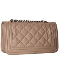 Steve Madden | Brown Bfriend Quilted Crossbody | Lyst