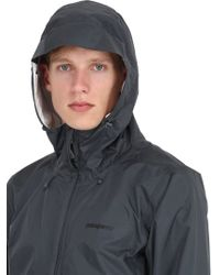Patagonia Gray Torrentshell Hardshell Jacket for men