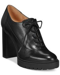 Nine West - Black May Lace Up Shootie - Lyst