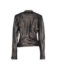 Vintage De Luxe - Gray Jacket - Lyst