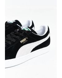 PUMA | Black Suede Classic + Sneaker for Men | Lyst