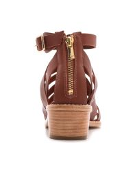 Loeffler Randall Brown Rooney Fisherman Sandals