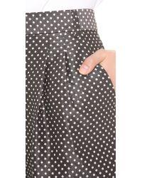 Viktor & Rolf Black Dots Jacquard Shorts