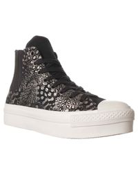 Converse | Black Chuck Taylor Chelsee Fashion Sneaker | Lyst