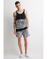 Forever 21 | Black -inspired Print Tank for Men | Lyst