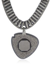 Ledaotto - Black Shangai Necklace - Lyst