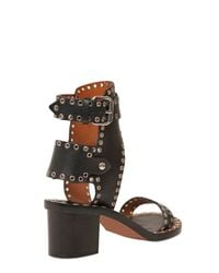 Isabel Marant - Black Jaeryn Sandals - Lyst