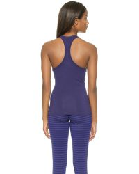 Splendid - Blue Shirred Front Tank - Astural Aura - Lyst