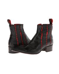 Jeffery West - Red Slasher Zip Boot for Men - Lyst