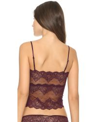 Only Hearts - Purple So Fine Lace Cami - Wine - Lyst