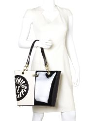 Anne Klein - Black & Sugar Double Trouble Tote - Lyst
