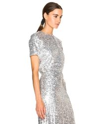 Nina Ricci - Metallic Sequin Top - Lyst