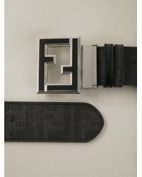 Fendi - Black 'college' Belt for Men - Lyst