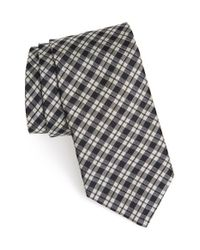 Todd Snyder | Black Plaid Silk Tie for Men | Lyst