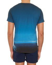 Orlebar Brown | Blue Ob T Sky Diver Jersey T-Shirt for Men | Lyst