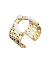 Lucky Brand | Metallic White Tusk Bracelet | Lyst