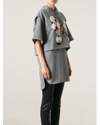3.1 Phillip Lim - Gray Sweater Dess - Lyst