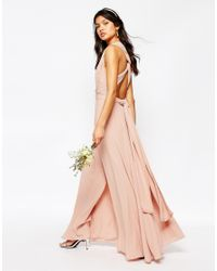 Fame & Partners Pink Ainsley Multiway Dress