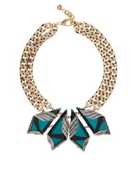 Lulu Frost | Metallic Reflection Necklace | Lyst