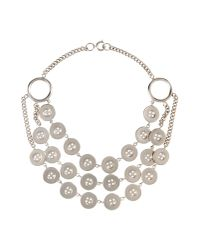 Moschino | Metallic Jewelry Set | Lyst