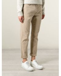 A Kind Of Guise - Natural Slim Fit Chino Trousers for Men - Lyst