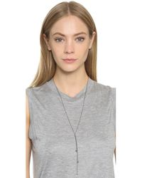 Ela Rae - Metallic Nelli Necklace - Lyst