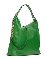 MICHAEL Michael Kors - Green Large Weston Pebbled Shoulder Bag - Lyst