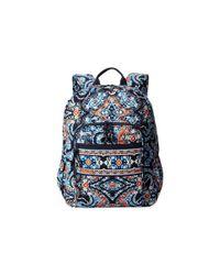 Vera Bradley | Blue Campus Backpack | Lyst