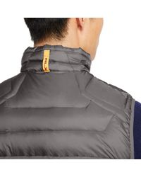 Ralph Lauren - Gray Water-repellent Down Vest for Men - Lyst