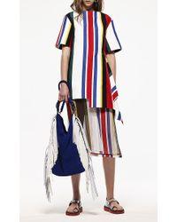 Marni - Cotton Multicolored Stripe Tunic - Lyst