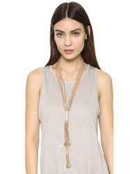Fiona Paxton - Brown Lidia Necklace - Lyst