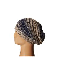 Michael Stars | Natural Gradual Shift Slouch Hat | Lyst