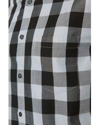 BOSS Green | Black 'c-bua' | Regular Fit, Cotton Button Down Shirt for Men | Lyst