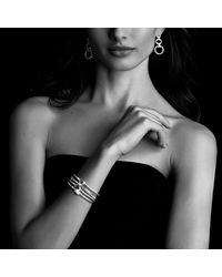David Yurman - Yellow Petite Wheaton Bracelet With Garnet And Diamonds In 18k Gold - Lyst