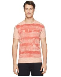 Calvin Klein Jeans - Pink Watercolor Logo T-shirt for Men - Lyst