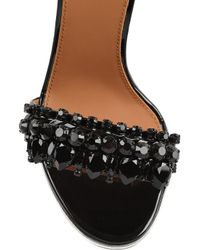 Givenchy Sandals In Studded Black Leather Black It36.5